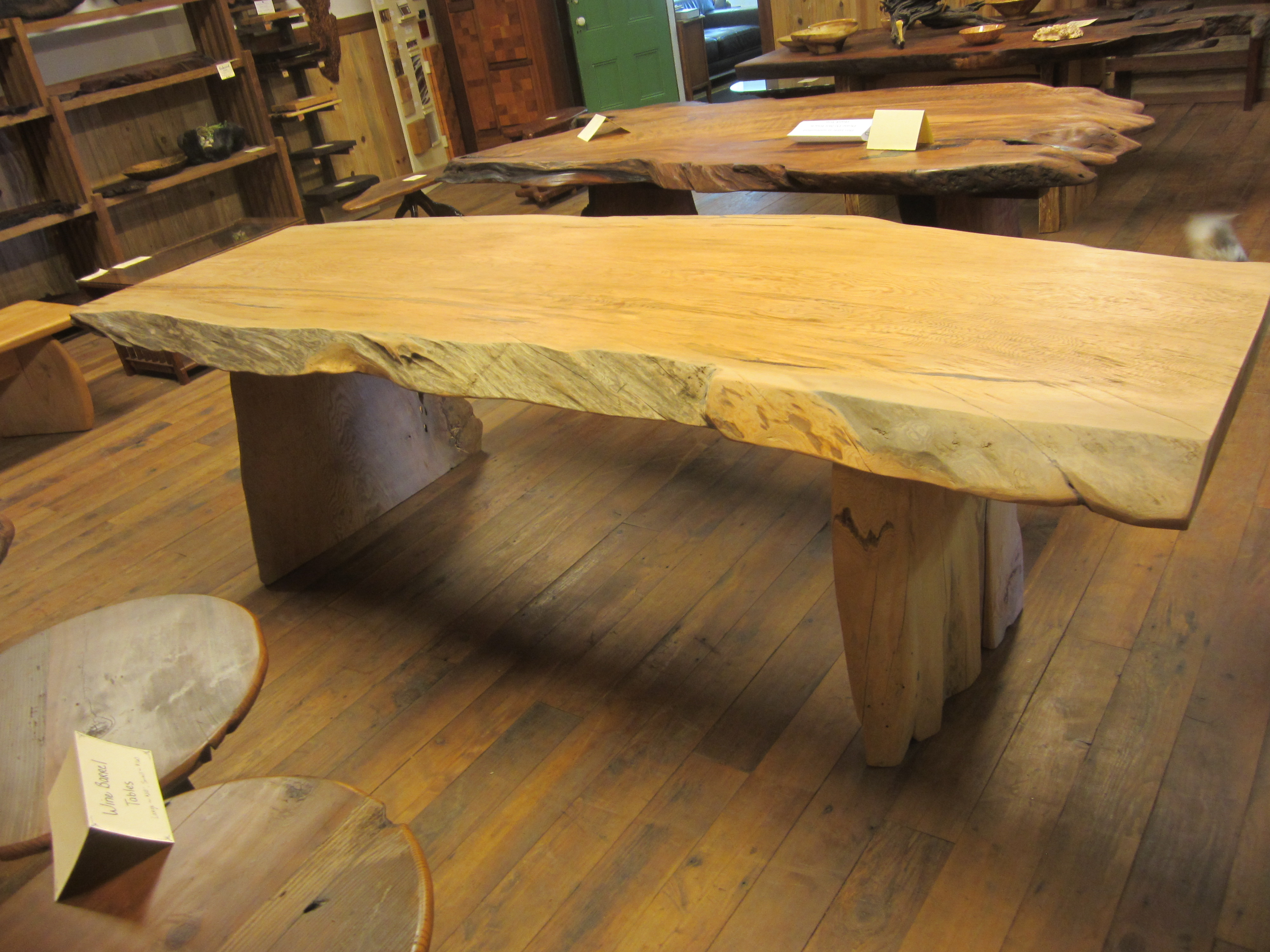 Old Growth River Salvaged Douglas Fir Dining Table