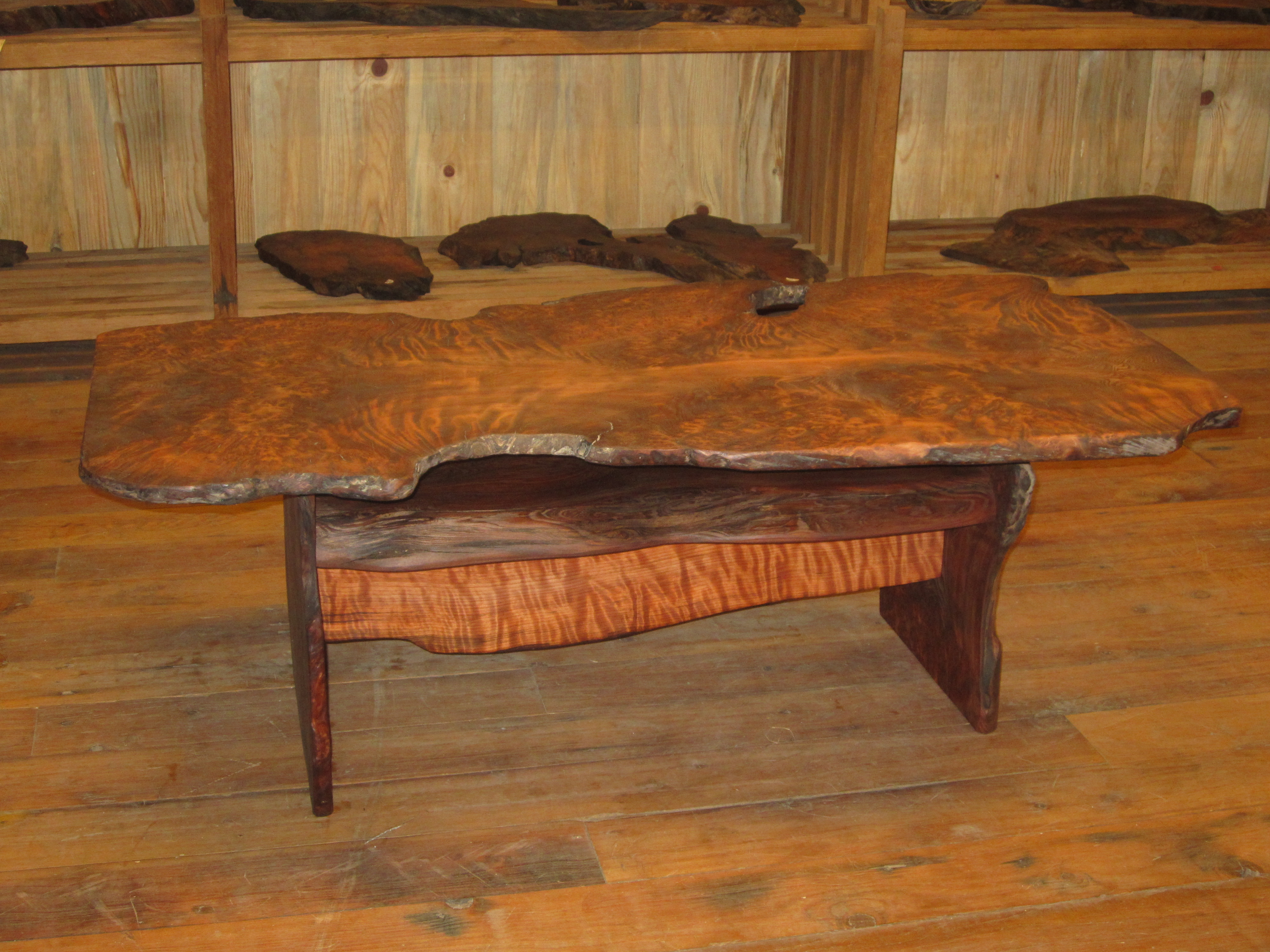 Sold Curly Grained Redwood Burl Coffee Table 895 Sold Anderson 39 S Alternatives