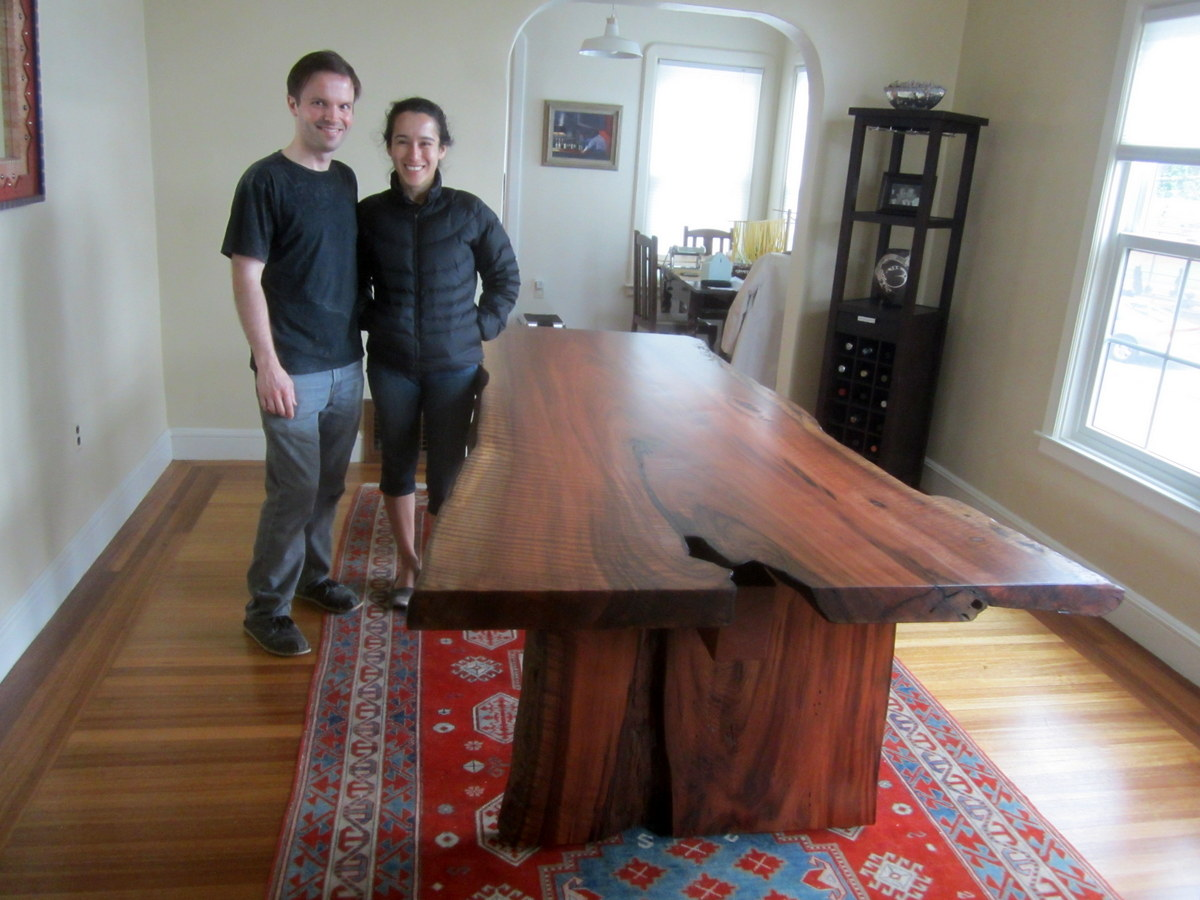 Redwood Slab Dining Table Recent Projects Andersons Alternatives