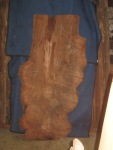 "#408. Redwood Lace Burl (89""L x 40""W x 3""T) $3,699"
