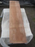 "#2. Redwood Vertical Grain (54""L x 14""W x 7.5""T) Call for pricing"