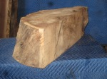 "#36a. Walnut Burl (10"" x 10"" x 32"") $300 or $525 for set of 3"