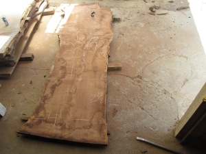 air dried for 4+ years, finished in a kiln for maximum stability and minimum water retention