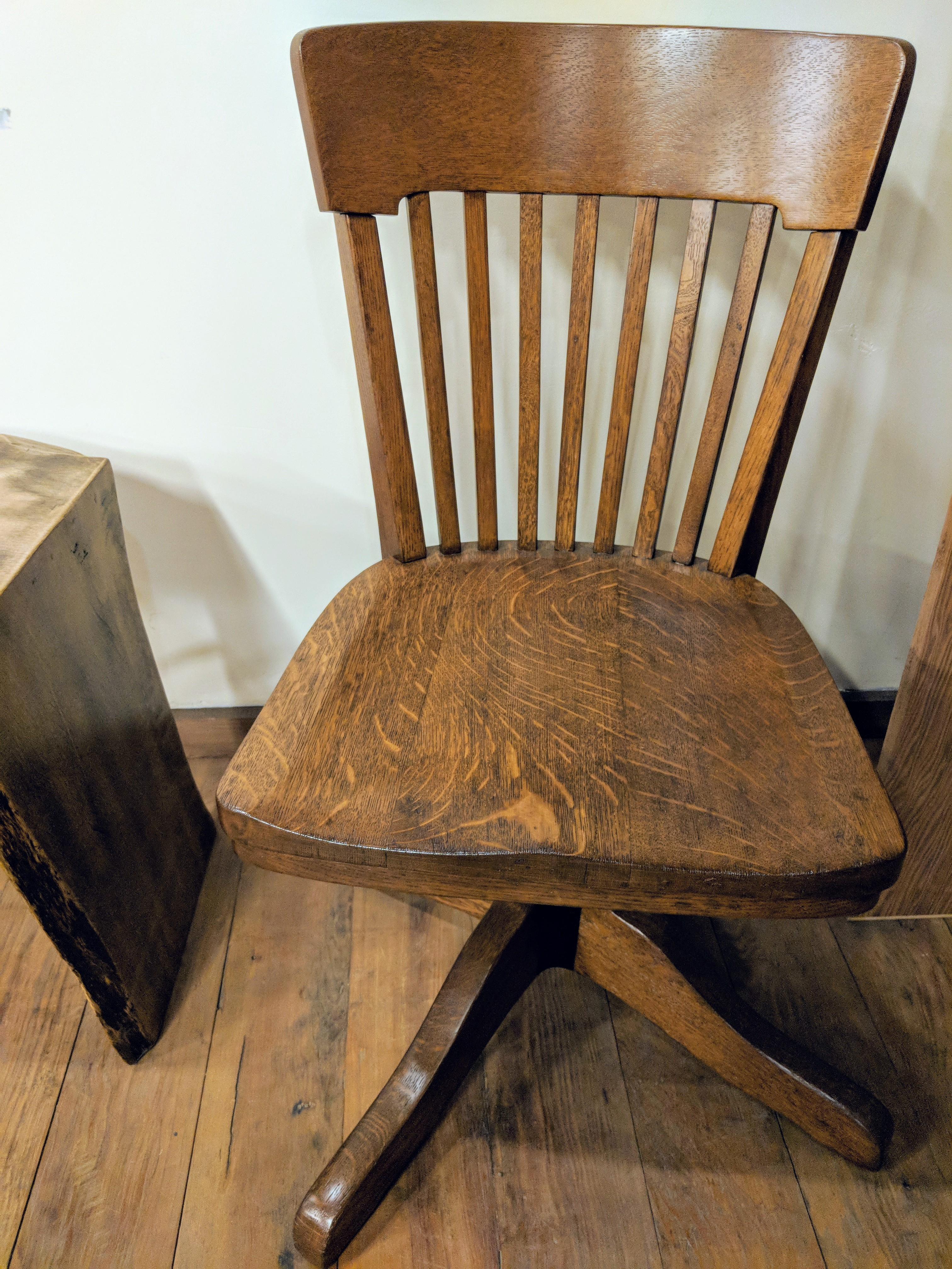 Antique Oak Office Chair Anderson S Alternatives